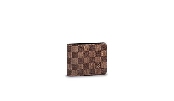 Amazon.com  Louis Vuitton Damier Slender Wallet Article  N61208 Made in  France  Sports   Outdoors 74eaa9d5216b0