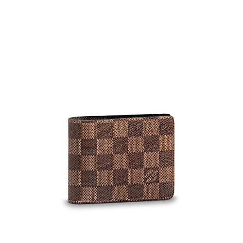 cae15a381d0 Amazon.com  Louis Vuitton Damier Slender Wallet Article  N61208 Made in  France  Sports   Outdoors
