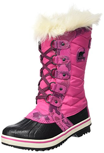 SOREL Kids' Youth Tofino Ii Snow Boot, Pink Ice/Black