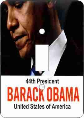 - President Barack Obama-44th President Switch Plate