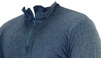 Octave Mens Thermal Underwear Long Sleeve Zip Neck T-Shirt//Vest//Top