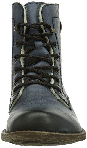 Rieker 70821-14, Womens Boots Blue (Ozean/Mogano/14)
