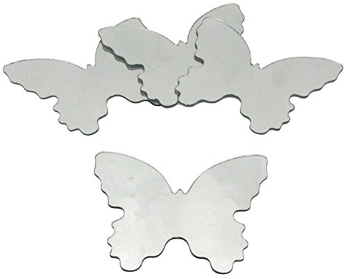 RoomMates Butterfly Peel and Stick Mirror (Small - 4 Pieces)