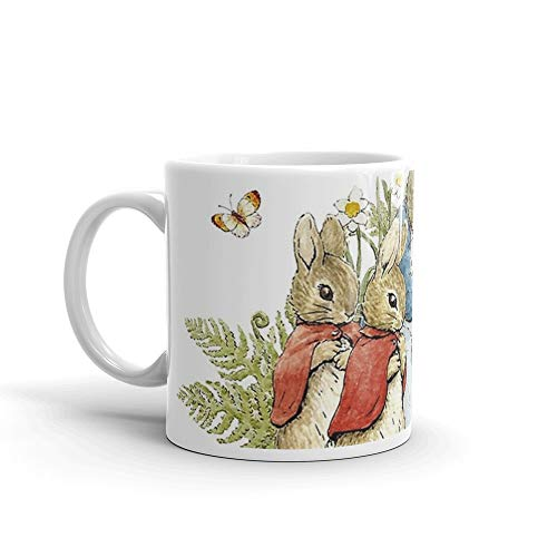 Peter Rabbit With His Family - Beatrix Potter 11 Oz Ceramic