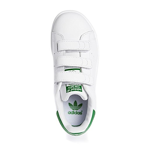 Weiß adidas Stan Smith Baskets Garçon wrBqfrI
