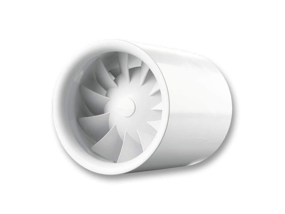 Ausf/ührung standard Rohreinschubventilator Rohrventilator Rohreinschub Rohrl/üfter Einschubl/üfter Abluft Zuluft L/üfter Serie KTT pro Industrie leistungsstark System /Ø 125