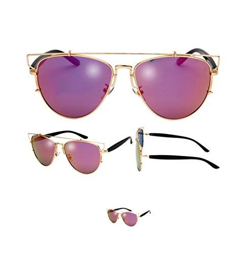 4 Hollow Lym Soleil Eyewear Protection 5 amp;lunettes Sunglasses Metal Lunettes amp; X9 Vintage De couleur HzqHBwF1O