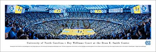 North Carolina Basketball - Unframed 40 x 13.5 Poster by Blakeway Panoramas
