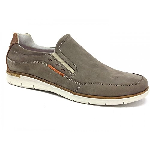 VALLEVERDE Men's Loafer Flats Beige Taupe Taupe wjeBWhAm