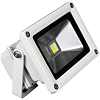 LUNASEA LIGHTING LLB-355C-51-10 / Lunasea Outdoor LED Flood Light - 85-265VAC/10W/900 Lumens - Cool White