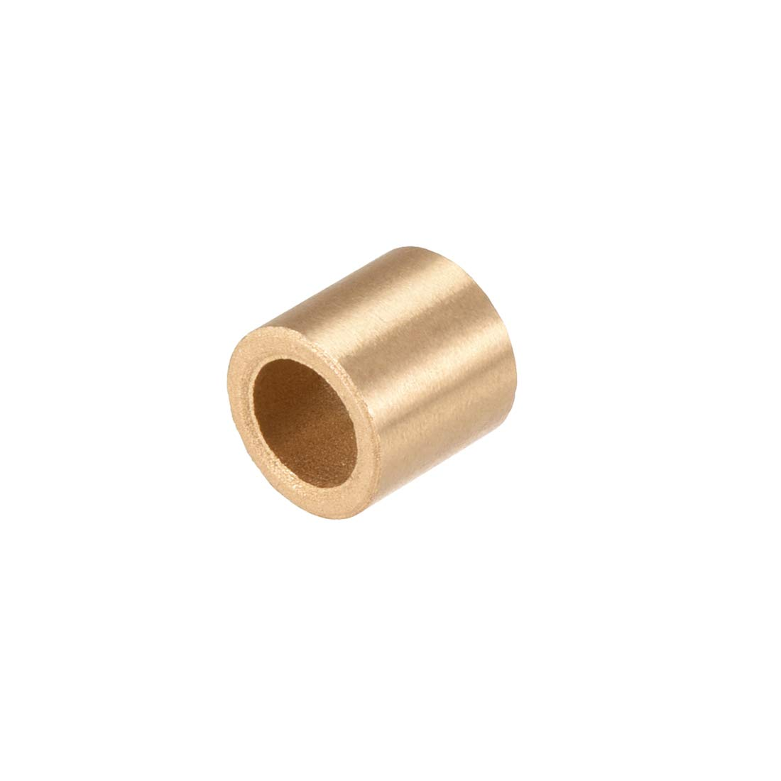 sourcing map 4mm x 8mm x 6mm Self-lubricating Bushing Sleeve Brass Bearings 10PCS