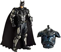 DC Super Heroes and DC Super-Villains are ready to battle it out with our bold, bright, highly detailed Collection. This 6-inch key character figure has iconic designs, 20 points of articulation and a detailed weapon accessory for epic action...