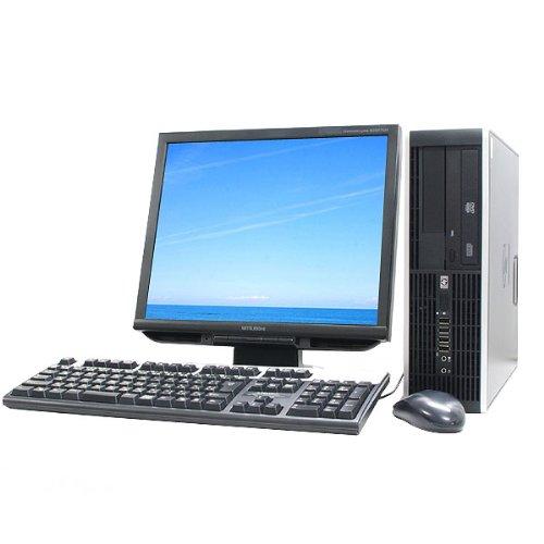 アンマーショップ 中古デスクトップパソコン hp COMPAQ 6000Pro リカバリ内蔵 DVDマルチ 17インチ液晶セット B00BRA2L9A CeleronE3300 2.5GHz 4GBメモリ DVDマルチ リカバリ内蔵 Windows 7 Professional MicrosoftOffice2007 B00BRA2L9A, 燻製工房 風の道:6162f6ea --- arbimovel.dominiotemporario.com