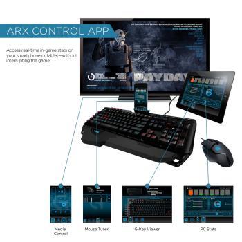 Aplicación Arx Control integrado