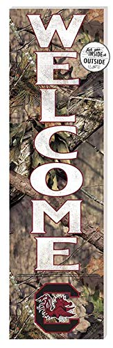 KH Sports Fan 10x35 in\Outdoor Mossy Oak Welcome South Carolina Gamecocks ()