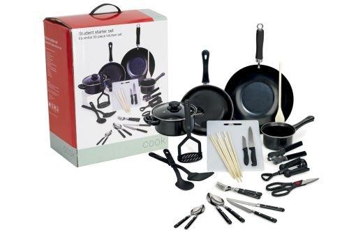 Ethos 31 Piece Student Starter Kitchen Set, In A Colour Box