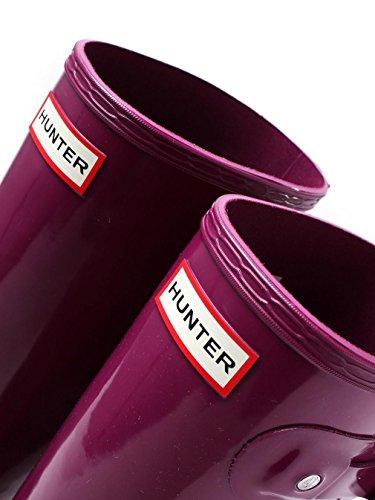 Hunters Original Tall Gloss - Botas de agua, color: Azul Violet