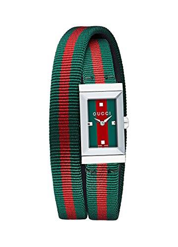 GUCCI G-FRAME LADIES WATCH YA147503 - Gucci Women Watches