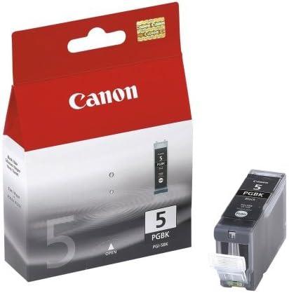 Canon PGI-5BK Cartucho de tinta original Negro para Impresora de ...