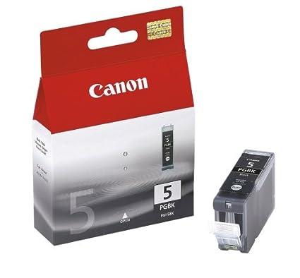 Canon PGI-5BK Cartucho de tinta original Negro para Impresora de Inyeccion de tinta Pixma MX700-MX850-MP500-MP510-MP520-MP520x-MP530-MP600-MP600R-MP61...