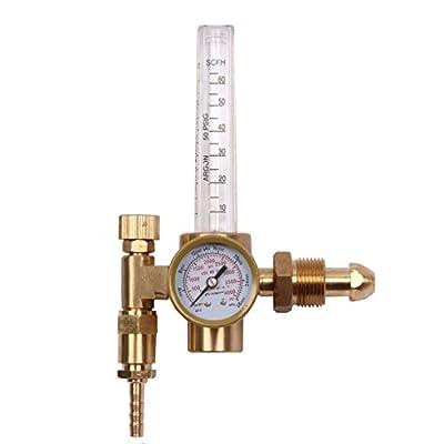 BETOOLL Argon/CO2 MIG TIG Flow Meter Gas Regulator Gauge