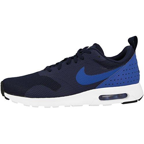 Nike Schuhe Air Max Tavas Herren obsidian-hyper cobalt-black-white (705149-407), 47,5, blau