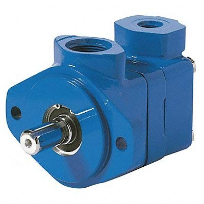 Vickers V Series Single Vane Pump, 2500 psi Maximum Pressure, 25 gpm Flow Rate, 4.94 cubic-inch/rev Displacement, Right Hand Shaft Rotation, 1-1/2