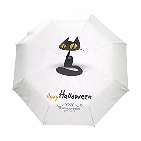 3 Folding Travel Umbrella Anti UV Sombrilla Playa Rain Sun Sombrinha 100% Polyester White Paraguas