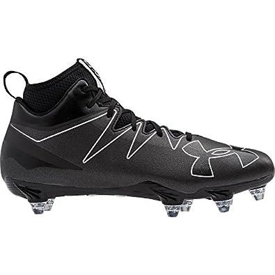 07c1b97de Under Armour Men s UA Nitro Mid D Black White Sneaker 8 D ...