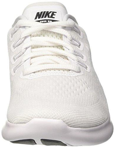 black Blanc de White Chaussures Free WMNS White pure Platinum RN 2017 Running Femme NIKE wFTqPw