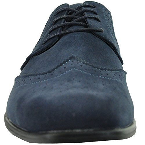 Lining Men Shoe Available Leather Oxford King Wide Classic Dress bravo Blue Width w0dCEqv