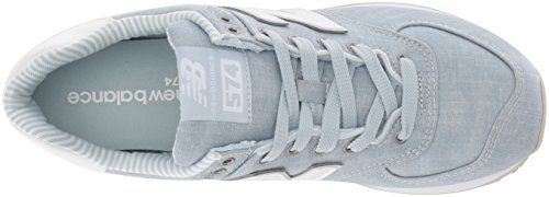 Light Women's 574v2 New Balance Blue White Porcelain tawH8