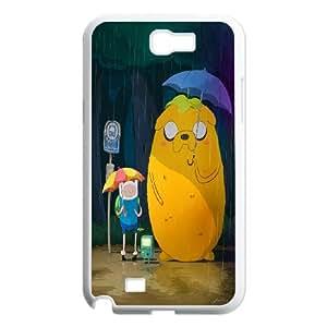 Samsung Galaxy Note 2 N7100 Phone Case Adventure Time uC-C28447