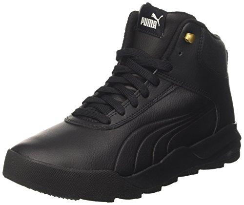L Puma Zapatillas Desierto Adulto 02 Unisex puma Black Black Negro puma Sneaker Altas wAqECAr