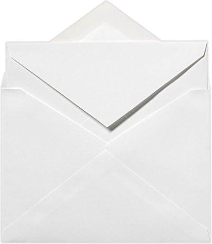 Square White 70lb 50 Per Pack Envelopes