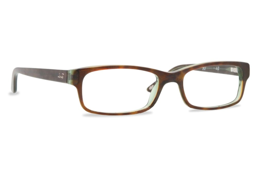Ray-Ban RX5187 Eyeglasses Havana/Green 50mm