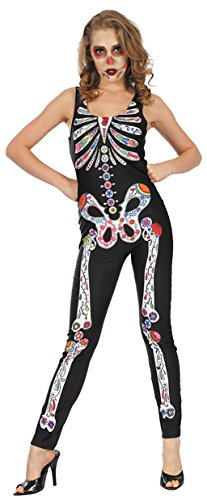 Party Pro 87296167 Combination Dia De Los Muertos, Size 38 -