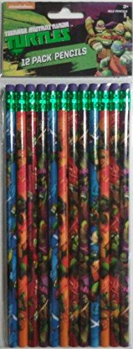 [Nickelodeon Teenage Mutant Ninja Turtles 12 Pack No. 2 Pencils] (Nickelodeon Teenage Mutant Ninja Turtles Treat Bags)