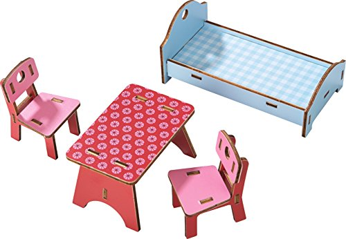 HABA Litttle Friends Dollhouse Furniture - Homestead - Haba Furniture