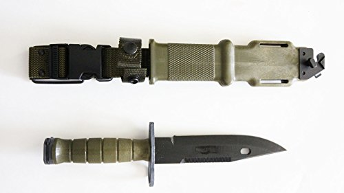Tri-Technologies Official US Military Army M9 Bayonet Knife Made in USA ()