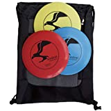 Kestrel Sports Kestrel Disc Golf Beginner Set Bundle | 3 Discs + Bag | Perfect Outdoor Games for Kids |...