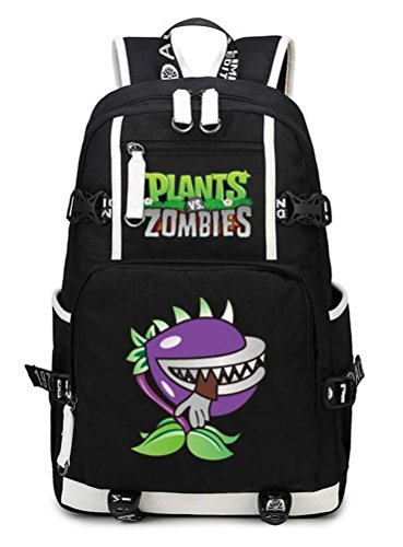 Siawasey Cute Plants Zombie Hot Game Bookbag Backpack School Bag]()