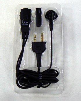 HM-166 IC-HM166 HM166 Icom Original Earphone Microphone 2 prong