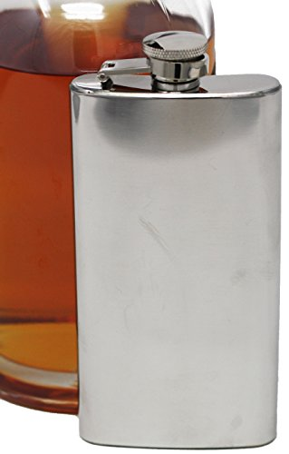 (5 oz Discrete Boot Hip Alcohol Liquor Flask (Shiny) Made from 304 (18/8) Food Grade Stainless Steel)