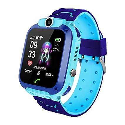 Amazon.com: hongxinyuan Kids Smartwatch, GPS Locator Water ...
