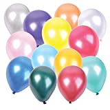 11 Inch Assorted Color Party Balloons 144 Pack Premium Quality Helium Balloons For Parties, Wedding, Birthday - By Katzco