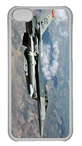 Customized iphone 5C PC Transparent Case - War Airplane 56 Personalized Cover