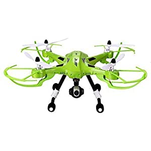 Coocheer JJRC H26D 3MP Wide Angle HD Headless Mode One Key Return RC Quadcopter Drone 4CH 2.4G 6-Axis Gyro Green