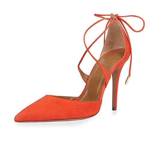 EDEFS - Tira de tobillo Mujer naranja