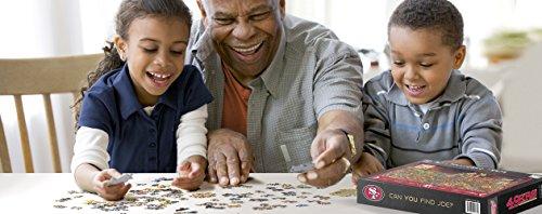 Joe Journeyman 9029755 San Francisco 49Ers Seek & Find Adventure Puzzle, Multicolor